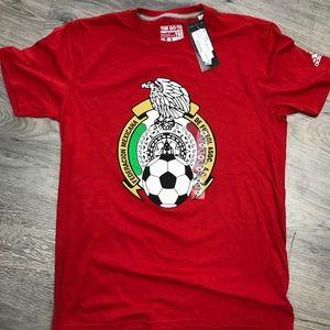Mexico Adidas Soccer T-Shirt MSRP $25 NWT